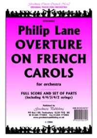 Overture On French Carols: Orchestra Score & Parts