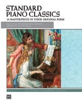 Standard Piano Classics: 24 Masterpieces: Piano Solo (Alfred)