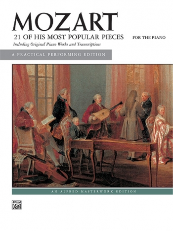 21 Of His Most Popular Pieces: Piano (Alfred)