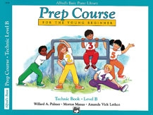 Alfred Prep Course For Young Beginner: Technic: Level B