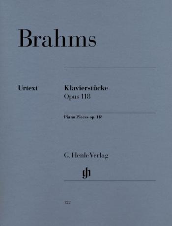 Piano Pieces  Op.118 Solo Piano (Henle)
