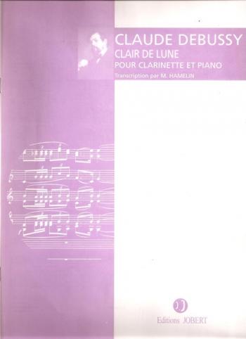 Clair De Lune: Clarinet & Piano  (Joubert)