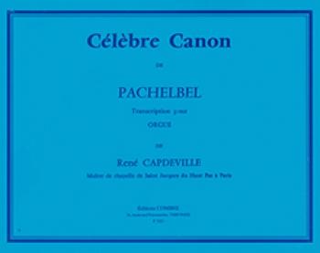 Canon: Organ: Capdeville