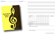 Practice Book: Instrument Practice Book: 34 Lessons (Yellow Cover)