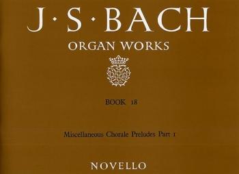Organ Works Book 18 (Novello)