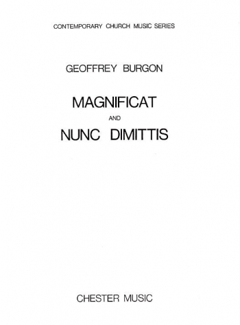 Magnificat And Nunc Dimittis SA & Organ (Chester)