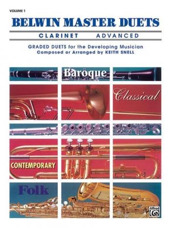 Belwin Master Duets Vol.1 Clarinet Advanced