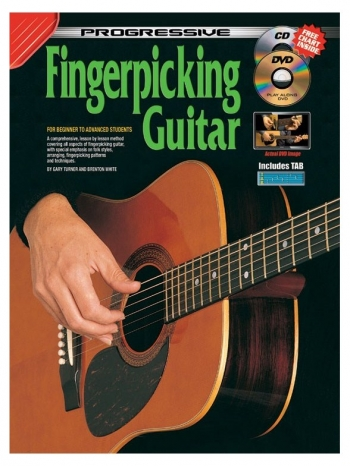 Progressive Fingerpicking Guitar Book & CD