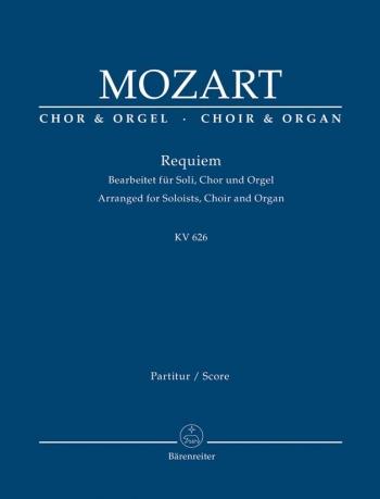 Requiem KV626 Vocal Score: Vocal And Organ (Barenreiter)