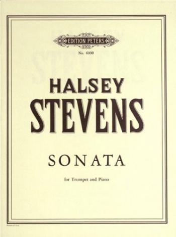 Sonata: Trumpet and Piano  (Peters)