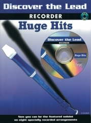 Discover The Lead: Huge Hits: Recorder: Bk&cd