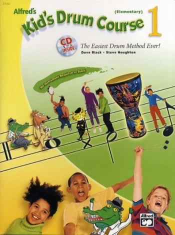 Kids Drum Course: Book And CD