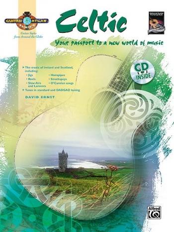 Guitar Atlas: Celtic: Guitar: Book & CD