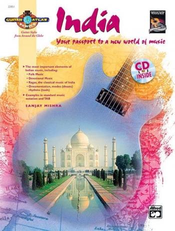 Guitar Atlas: India: Guitar: Book & CD