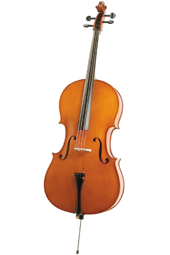 Zeller Solid Maple Back Cello 4/4