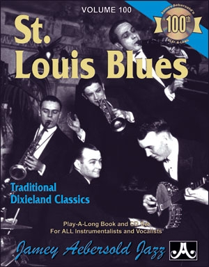 Aebersold Vol.100: St Louis Blues: All Instruments: Book & CD