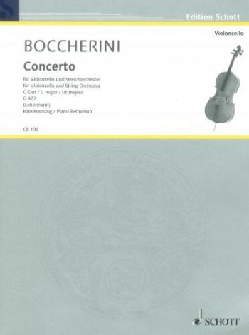 Cello Concerto C Major No.1: Cello & Piano (Schott)