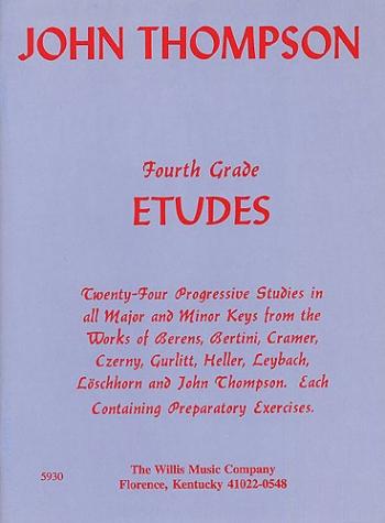 John Thompson's Modern Course For The Piano: Fourth Grade Etude