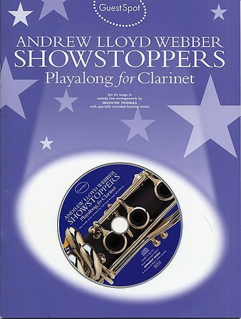 Guest Spot: Andrew Lloyd Webber: Clarinet: Book & CD
