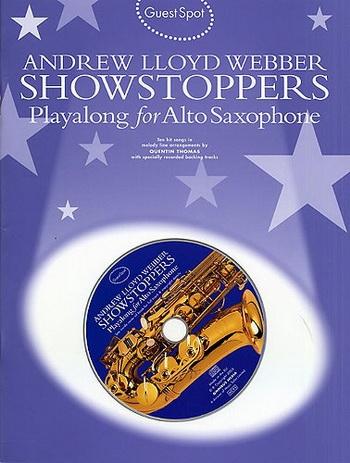 Guest Spot: Andrew Lloyd Webber: Alto Sax: Book & CD