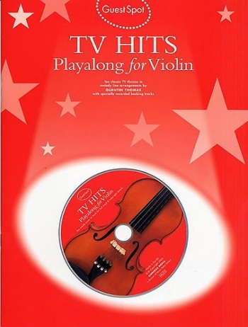 Guest Spot: Tv Hits: Violin: Book & CD