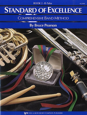 Standard Of Excellence: Comprehensive Band Method Book 2 Eb Tuba Bass Clef