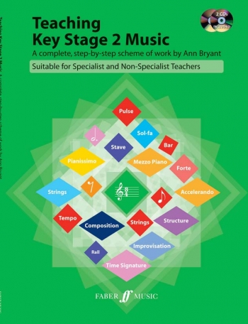 Teaching Key Stage 2 Music: Complete Step By Step Scheme: Bk&2CD
