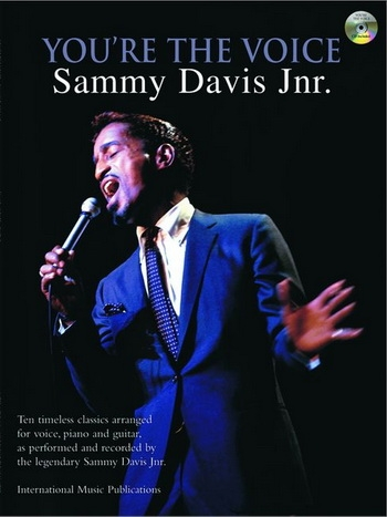 Youre The Voice: Sammy Davis Junior: Piano Vocal Guitar: Bk&cd