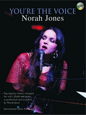 Youre The Voice: Norah Jones: Piano Vocal Guitar: Bk&cd