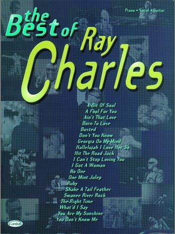 Ray Charles Best Of: Piano Vocal Guitar