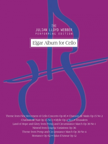 Cello Album: Cello & Piano  (julian Lloyd Webber) (Mayhew)