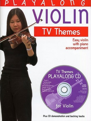 Playalong Violin Tv Themes: Violin and Piano