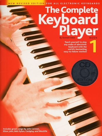 Complete Keyboard Player: Book 1: Revised: Book And Cd