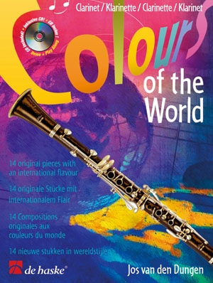 Colours Of The World: Clarinet: Book & CD