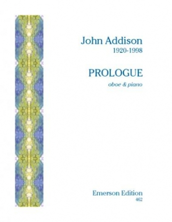 Prologue Oboe & Piano  (Emerson)