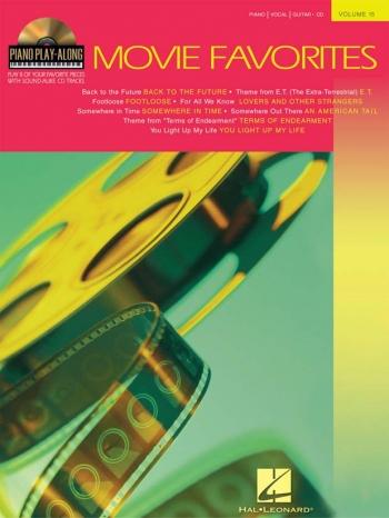 Piano Play Along: Movie Favorites: Vol.17: Piano Vocal Guitar