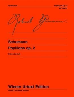 Papillons: Op.2: Piano  (Wiener Urtext)