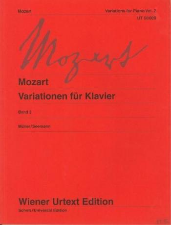 Variation For Piano: Vol.2: Piano (Wiener Urtext)