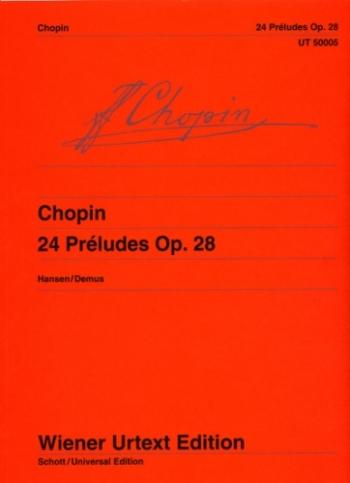 24 Preludes Op.28: Piano Solo (Wierner Urtext)