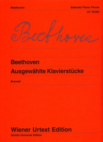 Selected Piano Pieces: Piano (Wiener Urtext)