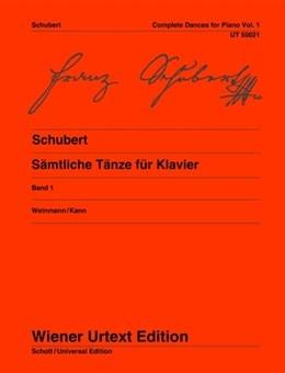 Complete Dances: Vol.1: Piano  (Wiener Urtext)