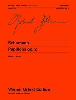Papillons: Op.2: Facsimile: Piano (Wiener Urtext)