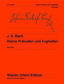 Small Preludes and Fughettas: Piano  (Wiener Urtext)