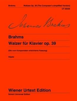 Waltzes Op.39: Composers Simpified Verse: Piano  (Wiener Urtext)
