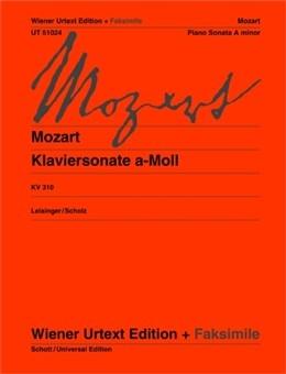 Sonata: A Minor: Kv310: Piano (Wiener Urtext)