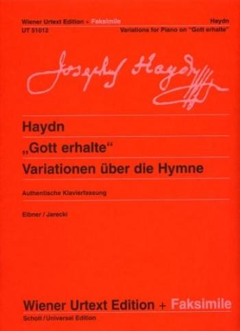 Variations On Gott Erhalte: Facsimile (Wiener Urtext)