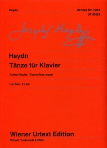 Dances For Piano: Solo Piano   (Wiener Urtext)