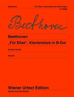 Fur Elise: Bb Major: Piano  (Wiener Urtext)