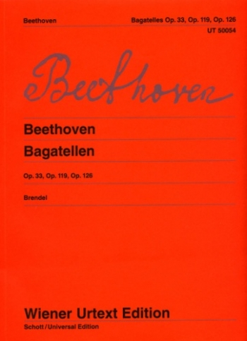 Bagatelles: Op. 33,119,126: Piano  (Wiener Urtext)