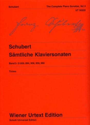 Piano Sonatas Vol.3 (Wiener Urtext)